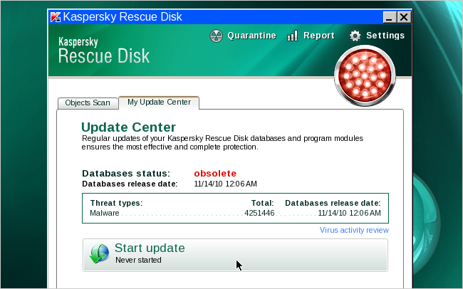 How To Make A Kaspersky Rescue Disk To Clean Virus + Malware
