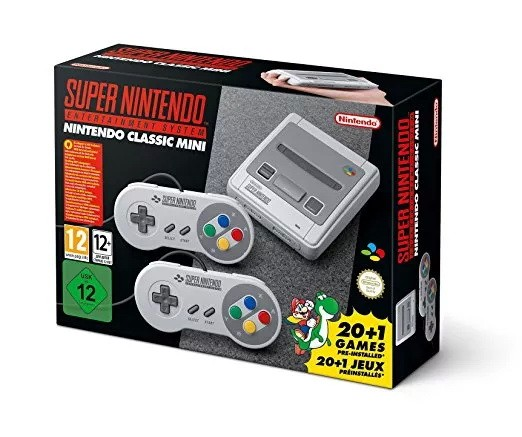 Christmas Gifts For Retro Gamers snes classic