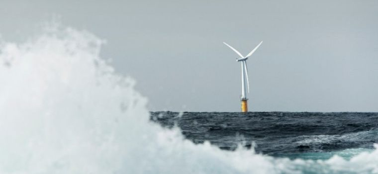 New Floating Wind Farm Produces Electricity