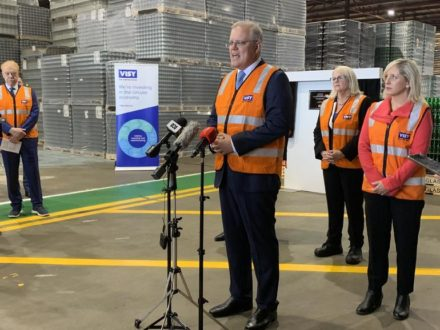 Prime Minister declares Australians should be in charge, not tech giants