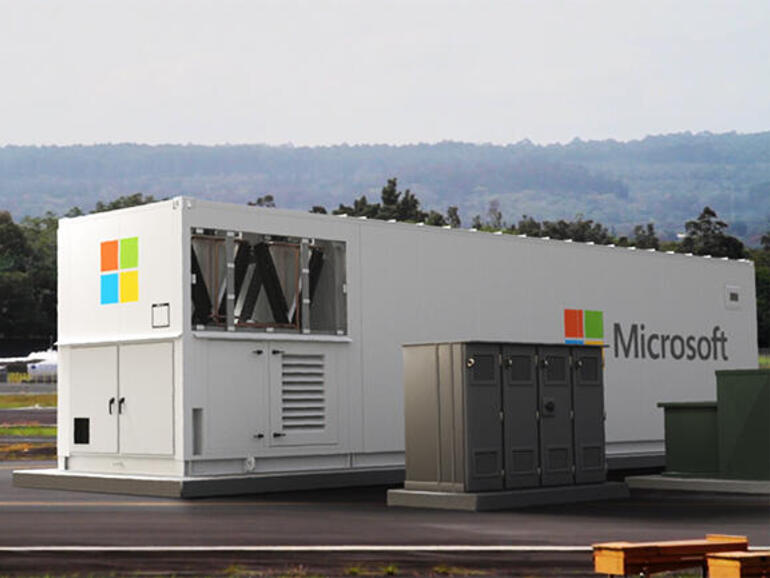 Microsoft is shipping a data centre in a 40-foot container. What's inside, and what's it for?