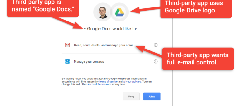 Don't trust OAuth: Why the Google Docs worm was so convincing