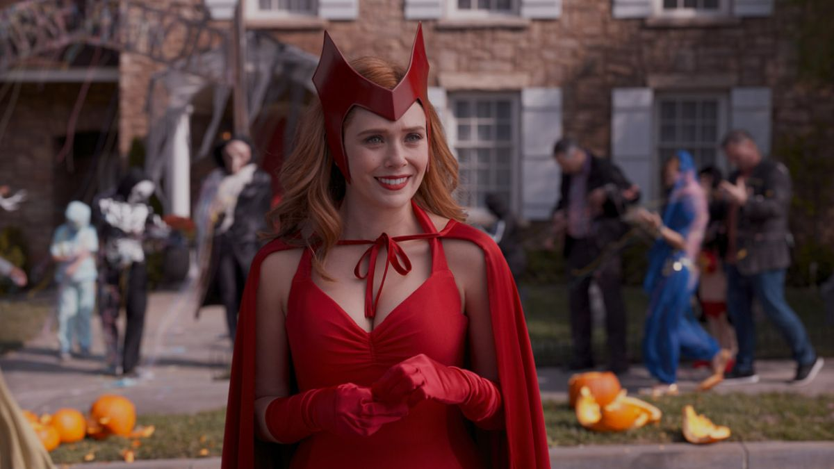 WandaVision episode 9 finally revealed the Scarlet Witch costume in full