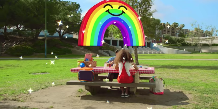 Snapchat's new World Lenses filter reality with 3D objects