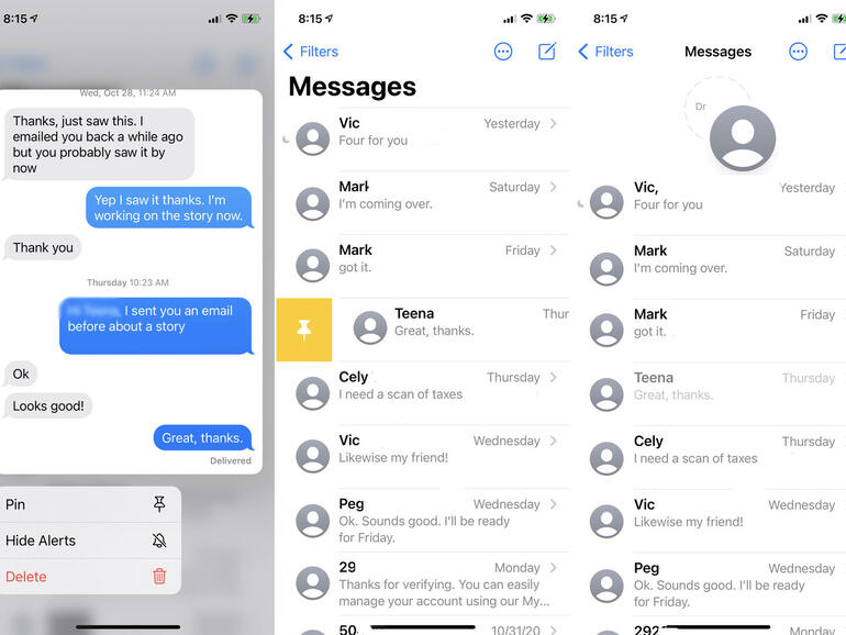 How to better manage all the texts on your iPhone or iPad