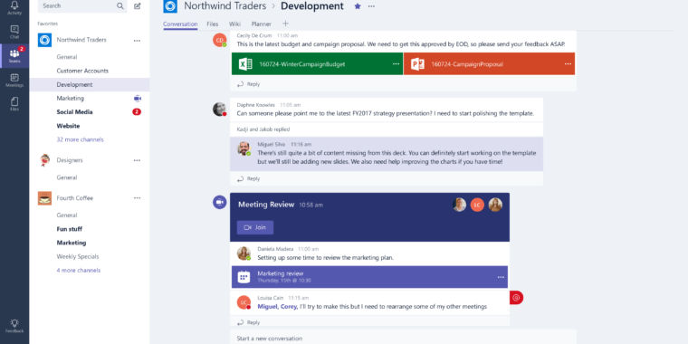 Microsoft's Teams is almost an excellent Slack-killer, and it's now live for O365