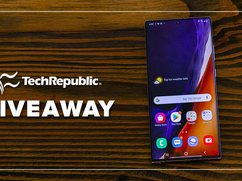 Enter to win a Samsung Galaxy Note 20*