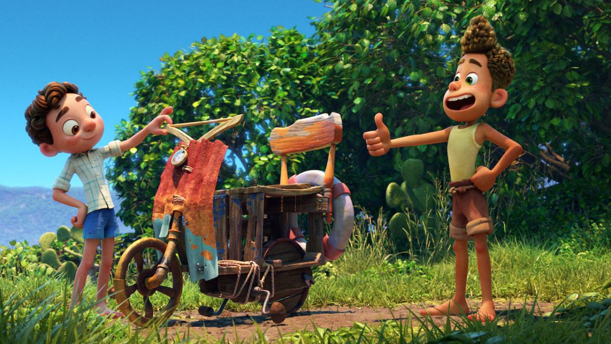 Inside Luca, the Studio Ghibli-inspired Italian Pixar film made entirely from home