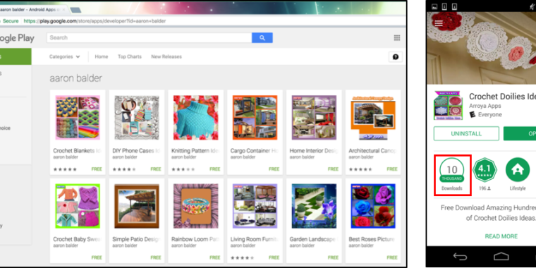 132 Google Play apps tried to infect Android users with… Windows malware