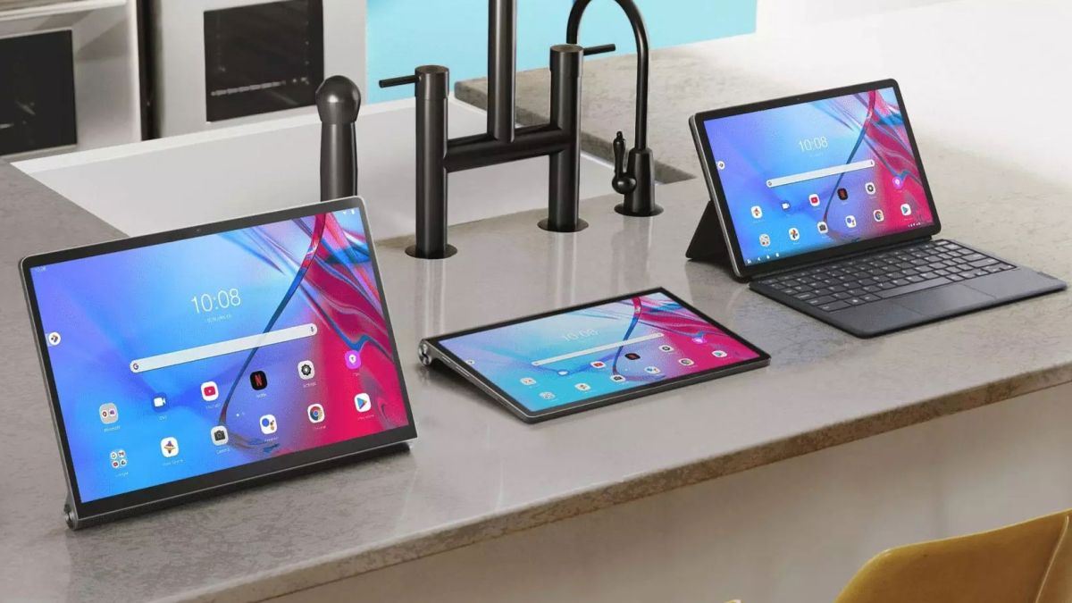 Lenovo has five new Android tablets including a huge iPad Pro rival