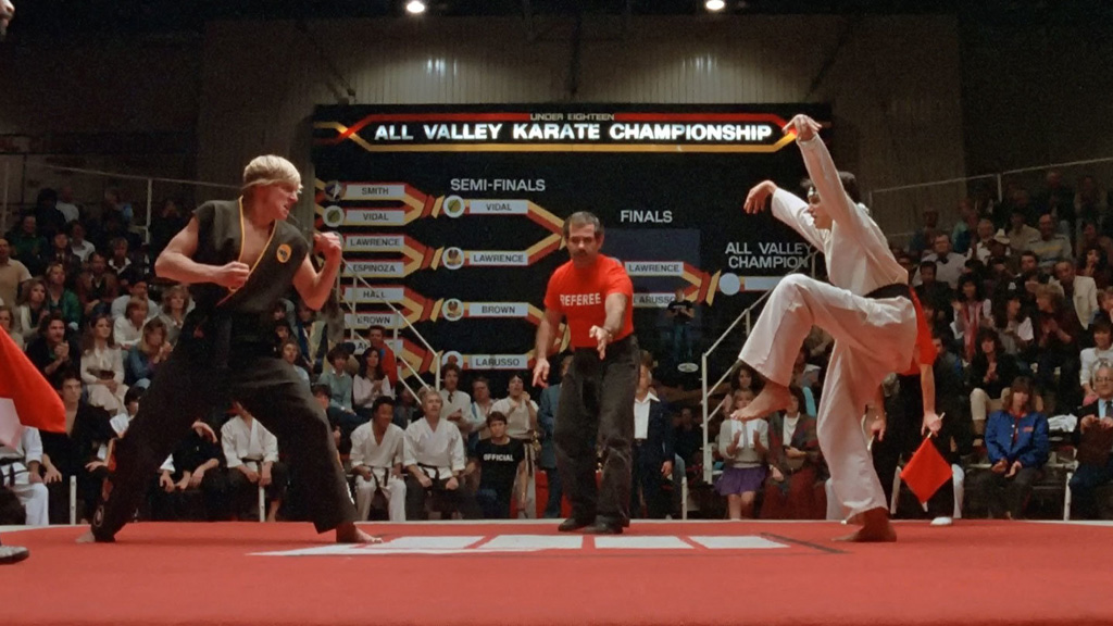 Karate Kid's final duel, one of the best movies you can watch on Netflix US.