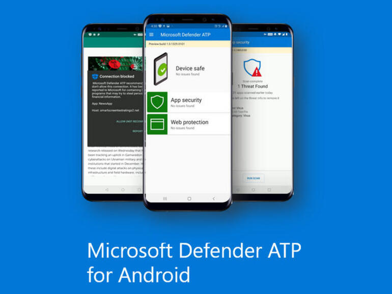 Microsoft Defender ATP for Android: This security software can help protect your devices and data