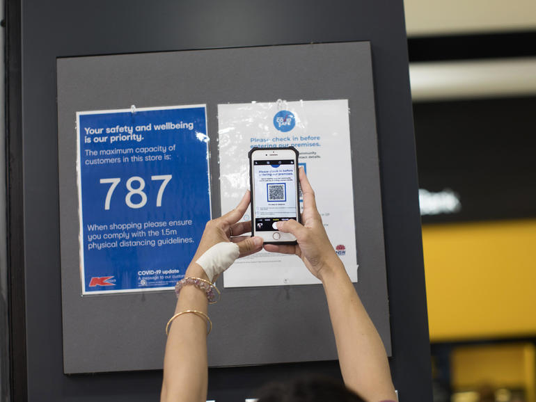 NSW government expands QR code check-in mandate to workplaces and beyond