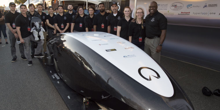 The high-performance computing that made one Hyperloop team's pod possible