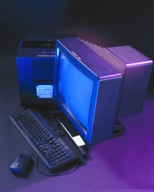 The NeXT machine used by TimBL at CERN.