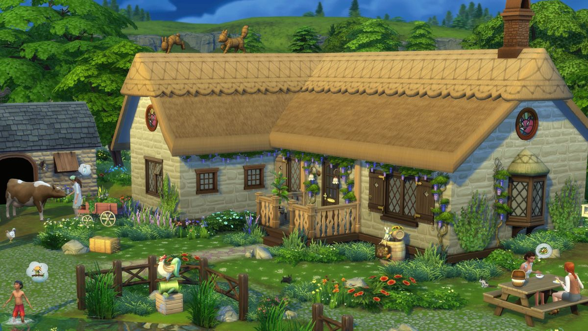 The Sims 4: Cottage Living left me wishing for the sweet peck of death