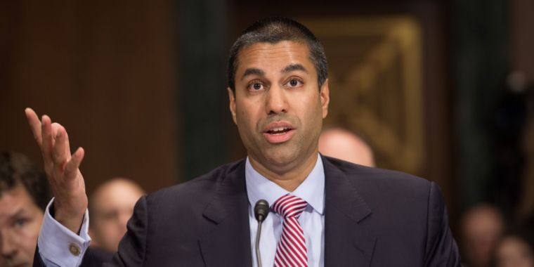 """Ajit Pai on net neutrality: """"I favor an open Internet and I oppose Title II"""""""