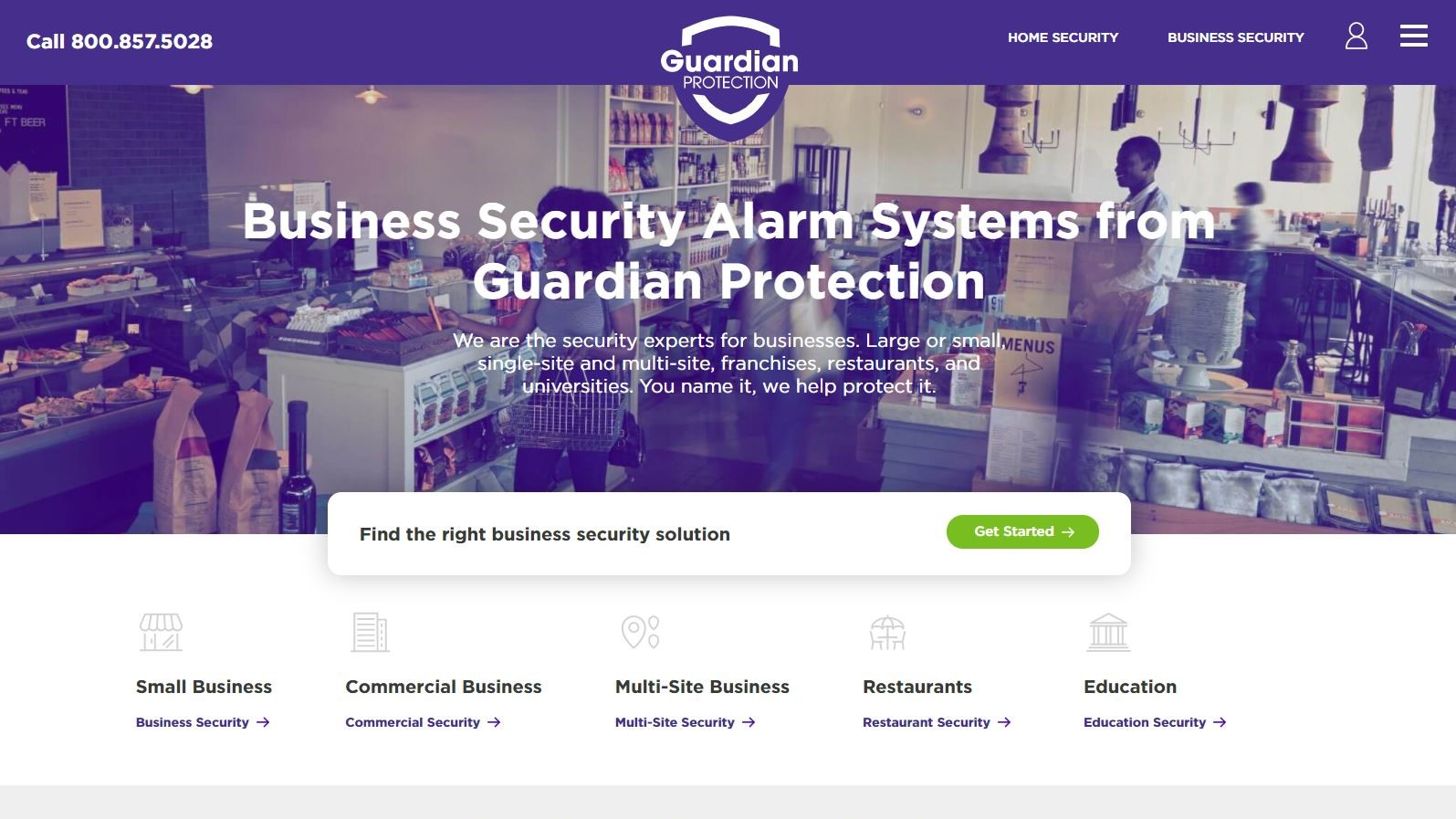 Guardian Protection Review Listing