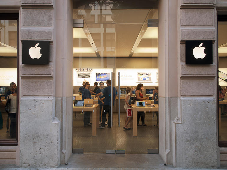How much stuff did Apple have to sell to make $81 billion in revenue?